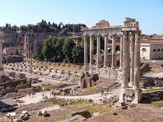 Foro romano en Roma. Italia. Anden 27 http://anden-27.blogspot.com.es/2015/03/con-j-de-jonico.html