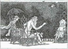 from The Remembered Visit by EdwardGorey