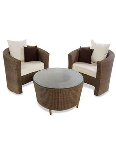 Grand Wicker Coffee Set