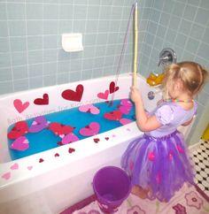 Bath Tub Fishing for Love