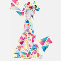Collage Fashion Illustration by: Fayci Tage