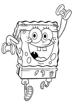 pictures of spongebob squarepants coloring pages