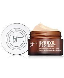 IT Cosmetics Your Skin But Better Makeup Primer+, 1-oz. & Reviews - Makeup - Beauty - Macy's Best Makeup Primer, Best Makeup Products, It Cosmetics Brushes, Makeup Cosmetics, It Cosmetics Bye Bye Redness, Acne Prone Skin, Flawless Skin, Beauty Makeup, Skin Care