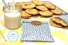 Cookies chocolat blanc & pralines