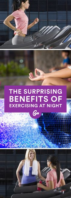 In other words, the perfect excuse to finally stop attempting those early morning workouts and embrace your inner night owl. #exercise http://greatist.com/move/reasons-working-out-night-best