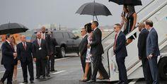 Galdino Saquarema 1ª Página: O presidente dos Estados Unidos, Barack Obama, chegou a Cuba .