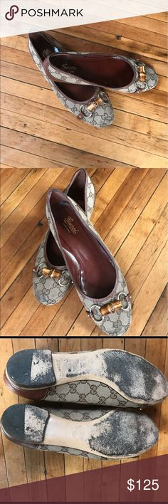 😍😍💕Gucci flats 💯 % Authentic 😍😍💕Gucci flats 💯 % Authentic. Price is Firm and very fair. Gucci Shoes