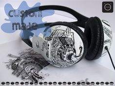 Satisfy sound, comfort, style and maximize your music experience with these Camera doodled sweet cheese premium on-ear personalized headphones. With Photographers growing these days, I doodled a Camera showing their passion. Listent to your favorite songs while you shoot. Know what else melts apart from cheese? Thats right! The world. Let it melt all the way behind your tunes. Check the complete project here…