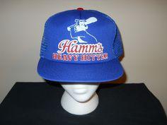 Vtg Hamm s Beer Bear Baseball Heavy Hitter  62 a920e9e67dd6