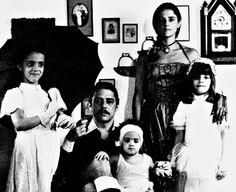 Silvia, Chico, Luisa, Marieta e Helena.