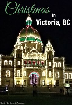 If you've never experienced a Victoria BC Christmas in the City, it is something you must try. Check out these tips on fun holiday events around Victoria. Traveling with Kids, Traveling tips, Traveling #Travel