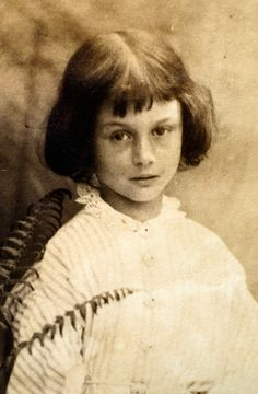 Alice Pleasance Liddell, daughter of the Dean of Christ Church, Oxford and inspiration for #AliceInWonderland
