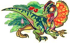 Dilophosaurus | Tumblr