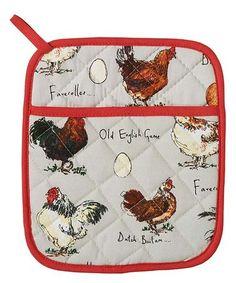 Look at this #zulilyfind! Chicken & Egg Potholder #zulilyfinds