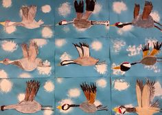 Kuvis a Craft 2 - www. Winter Art Projects, School Art Projects, Art Lessons For Kids, Art Lessons Elementary, 3rd Grade Art Lesson, Art Drawings For Kids, Ecole Art, Autumn Art, Science Art