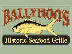 Try the famous stone crab claws ( a renewable resource since they grow the claws back) at BallyHoo's, the freshest fish in Key Largo, FL! Fl Keys, Florida Keys, Key Largo Restaurants, Stone Crab, Vintage Book Covers, Places To Travel, Crabs, Fun Stuff, Miami
