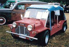 Mini Moke (1959) i saw one of these in my local Mini Dealership.  too cute