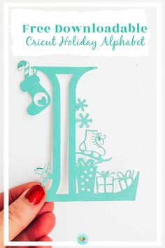 Christmas Craft Projects, Christmas Paper Crafts, Christmas Holiday, Christmas Presents, Cricut Christmas Cards, Cricut Explore Projects, Ideas For Cricut Projects, Cricut Vinyl Projects, Christmas Alphabet