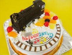 SL機関車ケーキ
