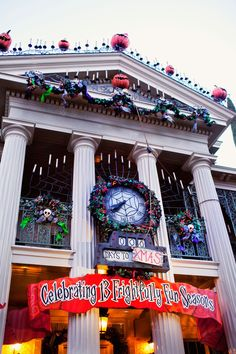 Disneyland // Haunted Mansion Holiday 2013 #disneyland