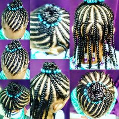 Top 100 goddess braids hairstyles photos Children's Braids with Natural Hair by Tracy aka Ghana #beautiful #beadsandbraids #beadedbun #designbraids #designcornrows #childrenbraider #childrenstylist #cornrows #cornrowbuns #braidedcornrows #braidshair #braidedbun #just4girlssalon #atlcornrows #atlcornrowbraids #braidshopsinatlanta