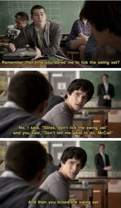 Teen wolf hahaha