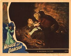 Lobby Card from the film House Of Dracula