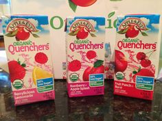 Apple & Eve Organic Quenchers perfect for the lunchbox! #QuenchersAdventures #PurelyOrganics @appleandeve @appleandevelovejuice #sponsored @influenster #voxbox #influenster