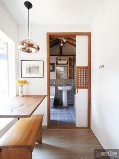 korean contemporary interior design | Modern Korean traditional house interior