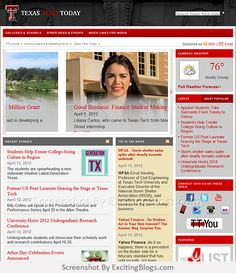 Texas Tech Today :: University News Releases, Stories, and Clips - Click to visit site:  http://1.33x.us/xdDgol