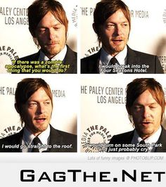 Like we needed another reason to love Norman Reedus