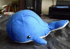 Kolejny prezent dla brzdąca – filcowy wielorybek. Szablon kupiłam, a dokładnie mąż mi kupił,Fluffels & DIY Fluffies. Poziom średnio zaawansowany i nie dziwię się, że tak właśnie ktoś to …