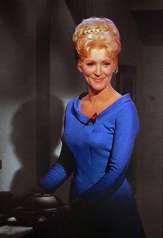 Nurse Christine Chapel (Majel Barrett) - Star Trek: The Original Series Star Trek 1966, Star Trek Tv, Star Wars, Star Trek Original Series, Star Trek Series, Tv Series, Star Trek Characters, Female Characters, Alien Nation