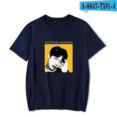 BTS Love Yourself Fans Kpop Summer T-shirts Women T Shirts High Qualityeavengifts-eavengifts Cool Tee Shirts, Love T Shirt, Cool Tees, Blusas Do Bts, Theme Bts, Kpop Shirts, Bts Shirt, Kpop Outfits, Worldwide Handsome