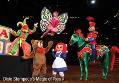 Dixie Stampede's Magic of Toys