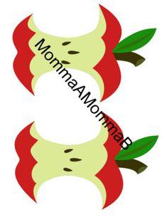 Apple Unit, Jar Labels, School Themes, Tot School, Coloring Sheets, September, Diagram, Teaching, Colouring Sheets