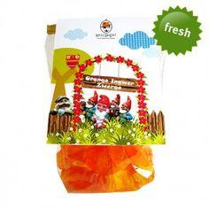 Fruchtgummi Orange Ingwer Zwerge