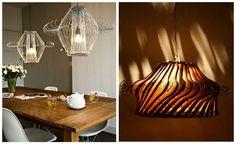 Lampada Origami Di Edward Chew : Come realizzare una lampada con 40 grucce di metallo. idee #reciclo