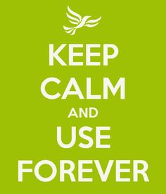 Keep Calm & use forever #myforeverdream