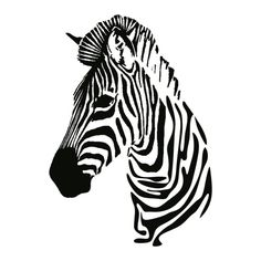 Zebra Tattoos, Animal Tattoos, Hourglass Drawing, Mandala Painting, Dot Painting, Fountain Pen Drawing, Painted Leather Jacket, Animal Stencil, Silhouette Tattoos