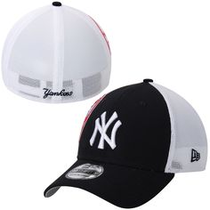 New Era New York Yankees Navy Double Mesh 39THIRTY Flex Hat