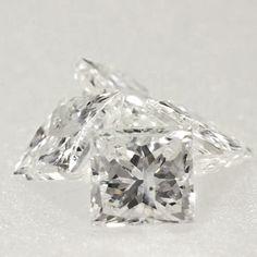 0.05 ctw F Color I1 Clarity 2.03x1.90x1.39 mm Loose Princess Cut Natural Diamond