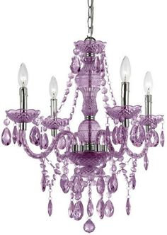 South Shore Decorating: AF Lighting 8353-4H Naples Transitional Crystal Chandelier AF-8353-4H