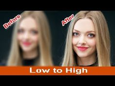 How to Convert Depixelate images & Full Concepts of convert Into High Quality Photo in Photoshop - YouTube
