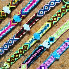 ✋Treasure island dreaming with our #danalevy opal hamsa hand friendship bracelets ✋