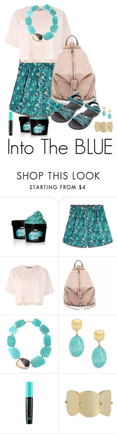 """Into The BLUE #1"" by shamrockclover ❤ liked on Polyvore featuring SkinCare, Hilfiger Collection, adidas, Rebecca Minkoff, Monique Péan, Kenneth Jay Lane, TONYMOLY, Eddie Borgo and Teva"