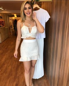 Cute Dresses, Tops, Shoes, Jewelry & Clothing for Women Casual Outfits, Cute Outfits, Super Cute Dresses, Two Piece Outfit, Chic Dress, Sexy Hot Girls, Belle Photo, Types Of Fashion Styles, Casual Tops