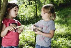 Schnitzmesser sind für Jungen und Mädchen gleich interessant...