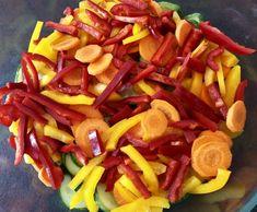 Sałatka z ogórków do słoików - Blog z apetytem Carrots, Pork, Vegetables, Ethnic Recipes, Sweet, Blog, Kale Stir Fry, Candy, Carrot