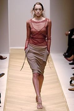 Akris Spring 2005 Ready-to-Wear Fashion Show - Nadine (MARILYN)